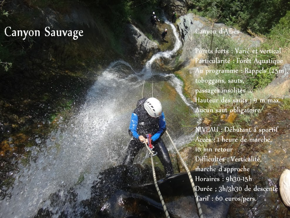 canyon albes sauvage