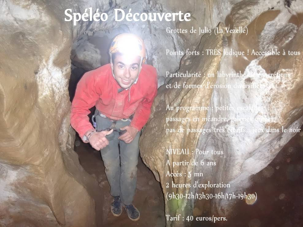speleo aventure 34 decouverte enfant adulte